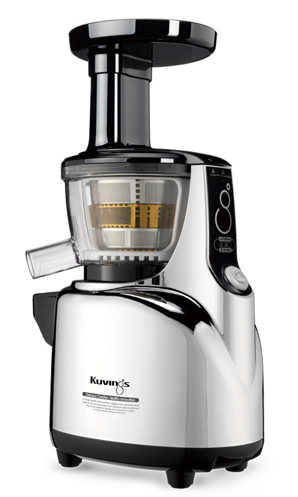 Kuvings Whole Slow Juicer B6000 Silber : Kuvings Whole Slow Juicer B6000