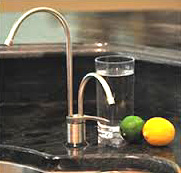 Faucet with Undersink Kit